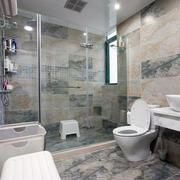 两室一厅卫生间瓷砖展示