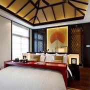 卧室室内床头背景墙欣赏