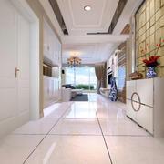100平米两室一厅精致玄关装修效果图