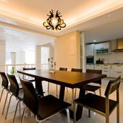 两室一厅精美餐厅展示
