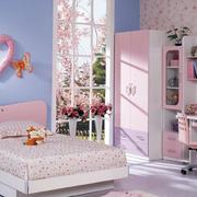 可爱甜美儿童房图片