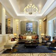 错层家居欧式客厅图片