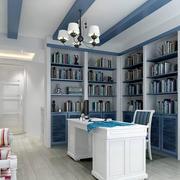 复式楼地中海风情书房装修图片
