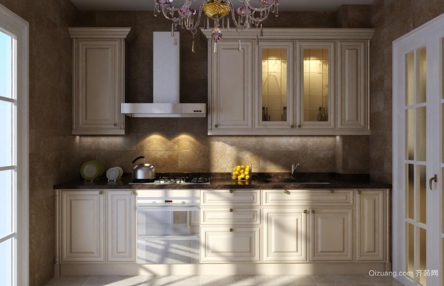 2016别具特色欧式厨房室内装修效果图大全