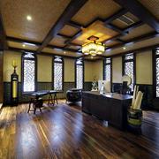 室内中式儒雅书房欣赏