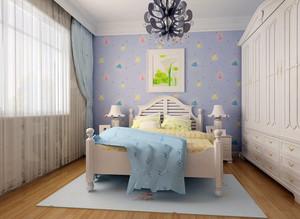 144平米大户型家居清新儿童房装修效果图