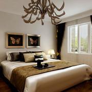 现代简约艺术型卧室图片