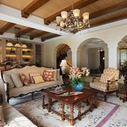 室内客厅沙发茶几欣赏