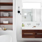 复式楼卫生间置物柜图片