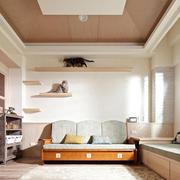 两室一厅浅色调客厅展示