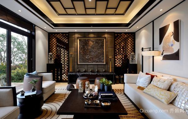 惊艳东南亚254平米别墅室内装修效果图