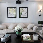 两室一厅客厅装饰欣赏