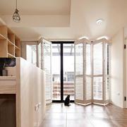 两室一厅阳台折叠门展示