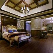 室内古典卧室图片