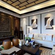 室内古典客厅图片
