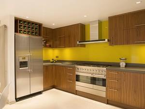 小公寓乡村风开放式厨房设计装修效果图