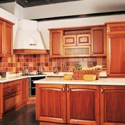 两室一厅古典温馨厨房设计装修效果图
