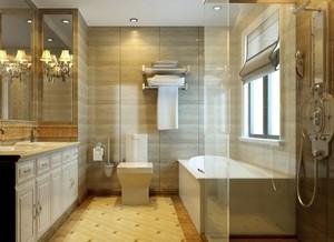 奢华古典欧式风格卫生间装修图片