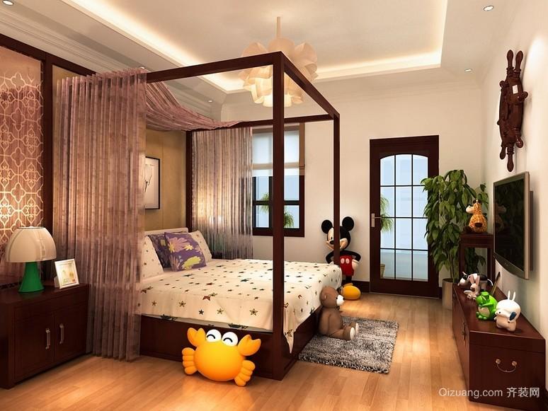 新古典两室一厅儿童房设计装修效果图