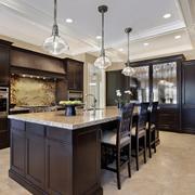 豪华复式楼新古典厨房设计装修效果图