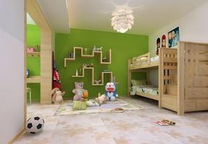 三居室前卫韩式风儿童房设计效果图