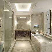 新古典精美的大型卫生间装修图片