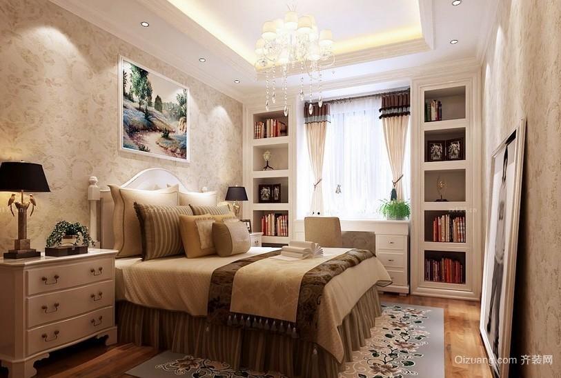 简欧145平米大卧室飘窗装修设计效果图