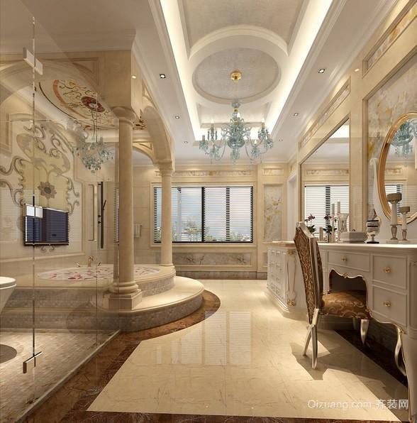 豪华欧式风别墅古典卫生间装修图片