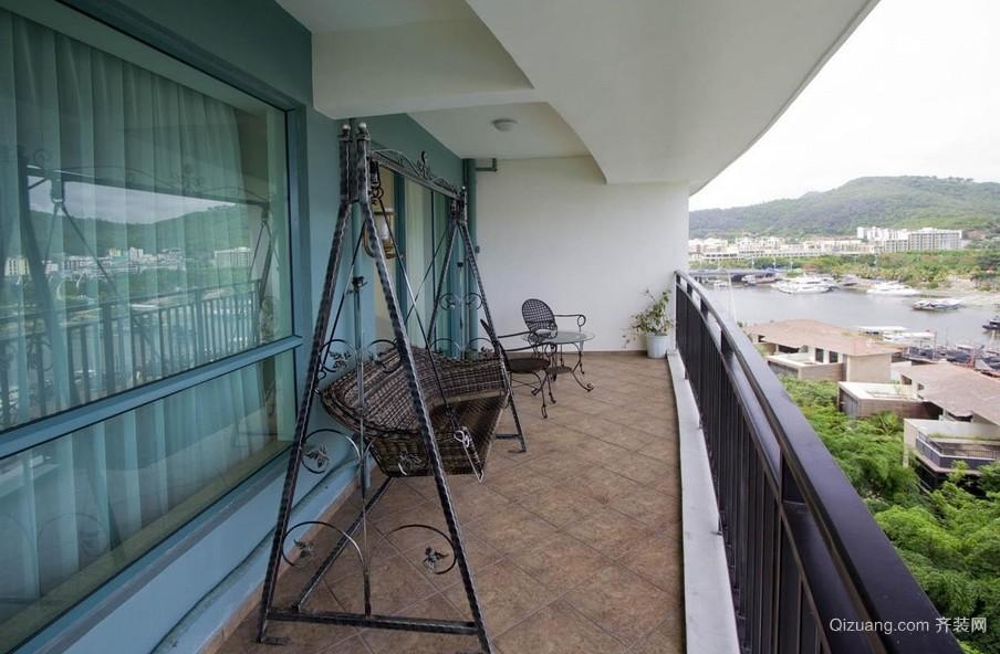 后现代风格舒适阳台设计装修效果图