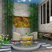 新古典大型别墅阳台装修效果图片