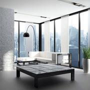 后现代风格单身公寓阳台装修实景效果图