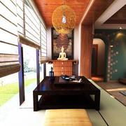 2016东南亚风格三室一厅阳台装修图片