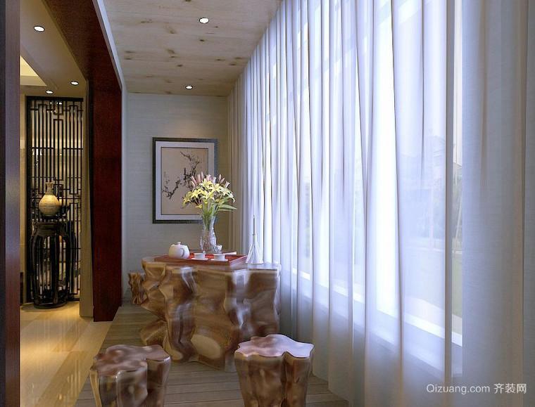 自我放松的新古典风格小阳台装修图片
