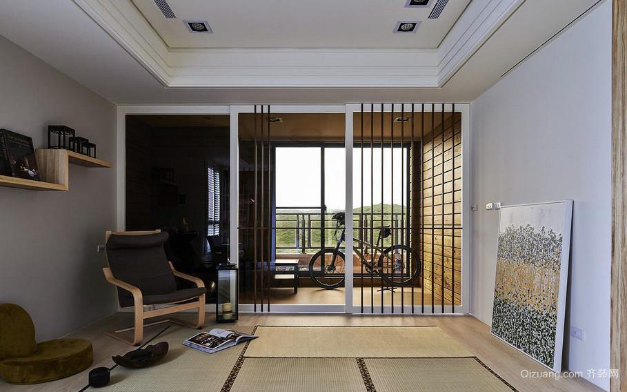 187平米三居室后现代风阳台隔断装修图片