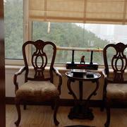 78平米家居古典阳台家具装修图片