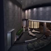 奢华别墅后现代风阳台装修效果图片