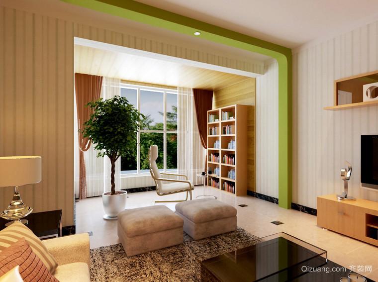 宜家韩式风格小户型阳台装修设计图