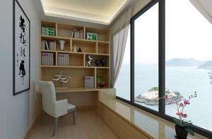 新古典风格三居室阳台装修设计效果图