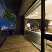 新古典165平米家居阳台装修设计效果图
