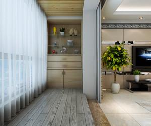 一室一厅小户型阳台壁柜装修设计图