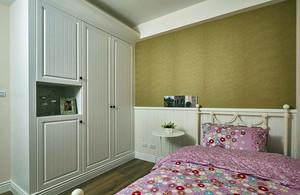 实用朴素的小户型儿童房壁柜装修效果图