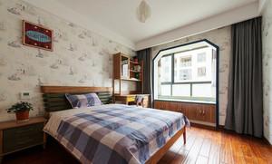 111平米家居古典乡村风儿童房装修效果图
