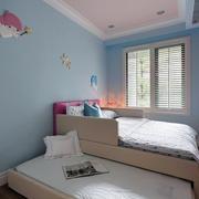 清爽韩式风格小户型儿童房装修效果图