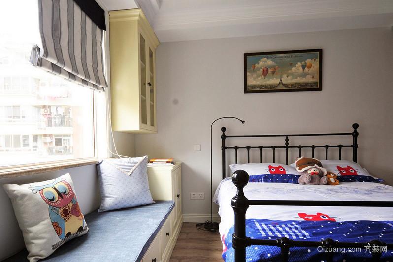 朴素简约的小户型儿童房装修效果图