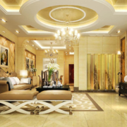 精致唯美的欧式风格别墅装修效果图