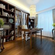 15平米新古典风格书房设计装修效果图