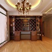新古典韵味的大户型家居酒柜效果图片