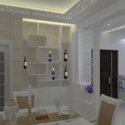 别墅现代室内欧式酒柜装修效果图鉴赏