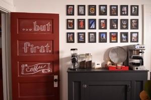 87平米小户型新古典照片墙设计效果图
