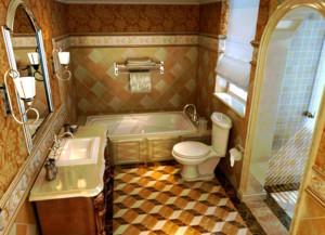 三居室马可波罗瓷砖卫生间装修效果图